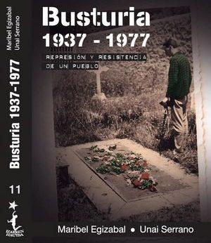 Egizabal Suarez, Maribel; Serrano Mujika, Unai (2017) Busturia 1937-1977. Represión y resistencia de un pueblo, Iruña, Laia Kultur Elkartea; Ahaztuak 1937-1977, 620 páginas.