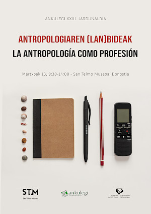 Cartel de la XXIII Jornada de Antropología Ankulegi (2020)